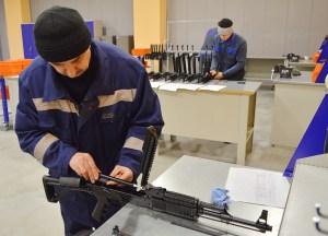 В Станьково делают карабины и винтовки