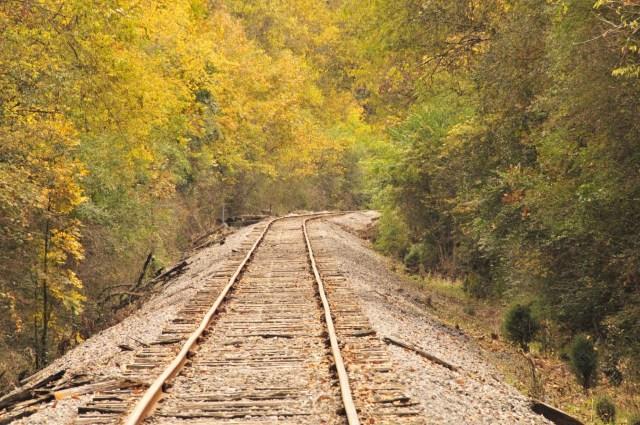 Railroad at Chickamauga Battlefield