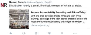Nieman Reports Tweet