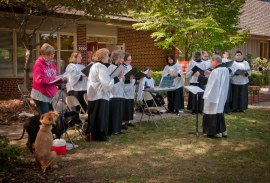 2011 Blessing of the Animals: Choir
