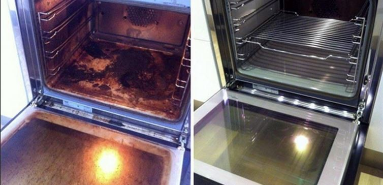 Steps to Clean Oven
