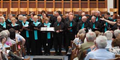 Choir performing at Victoria Hall