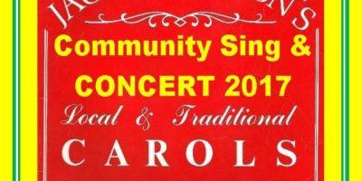 Jack Goodison Carols Concert Poster 2017
