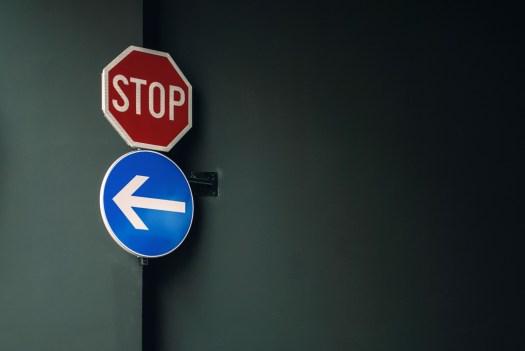 Stop Left