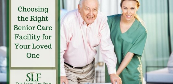 Choosing the right senior care facility