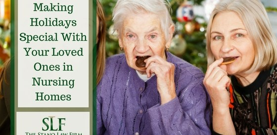 Celebrating holidays in nursing homes