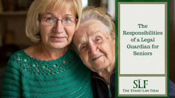 Responsibilities of elderly guardianship, elderly conservatorship