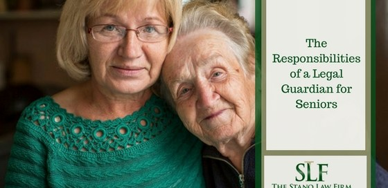 Responsibilities of elderly guardianship, elderly conservatorship