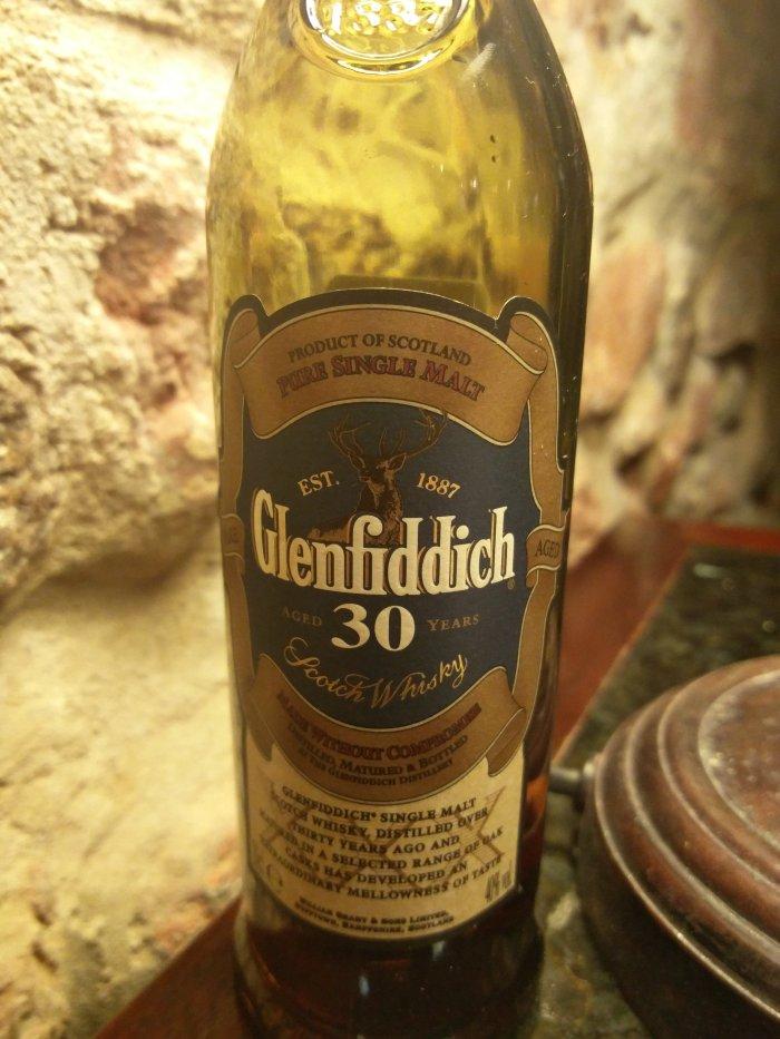 Glenfiddich 30 Year Old – XXX