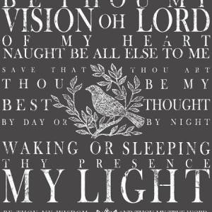 Be thou my vision  (24″x33″)