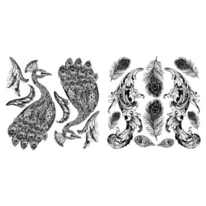 Pavo Stamp (2 Stamps)