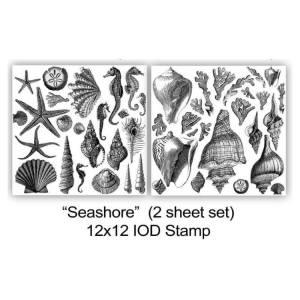 SeaShore Stamp (2 Sheets)