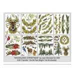 Woodland Christmas (Pad 12×16)