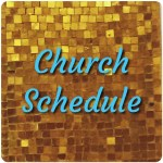 Church Schedule Button