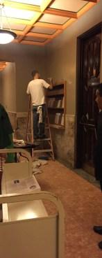 Painting the Vestibule