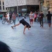 Breakdance sequence Barcelona 1