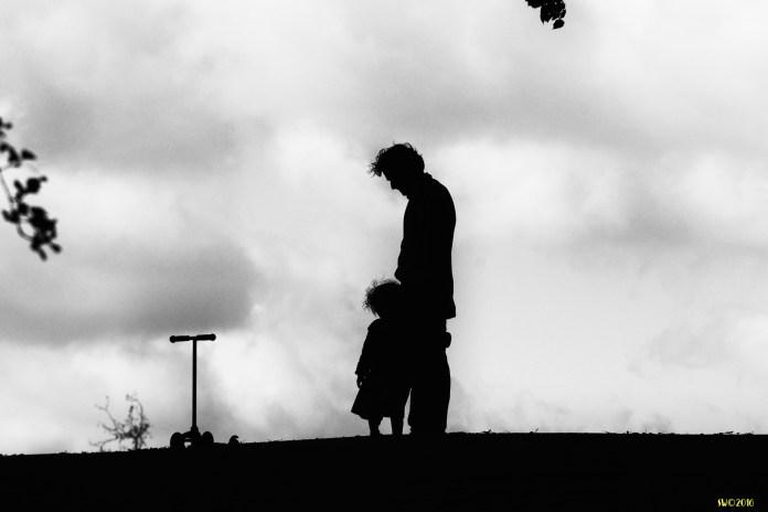 London Heath July Man & child 2011