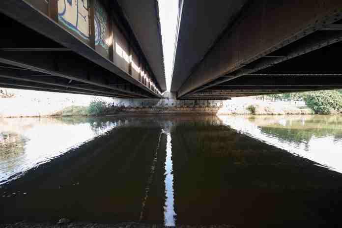 Under Namir Bridge