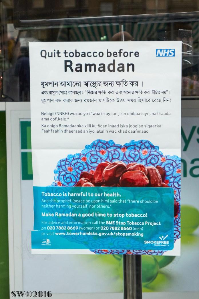 Ramadan non-smokers