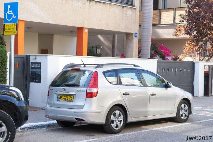 Dedicated car space