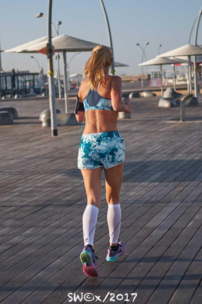 Rear jogger