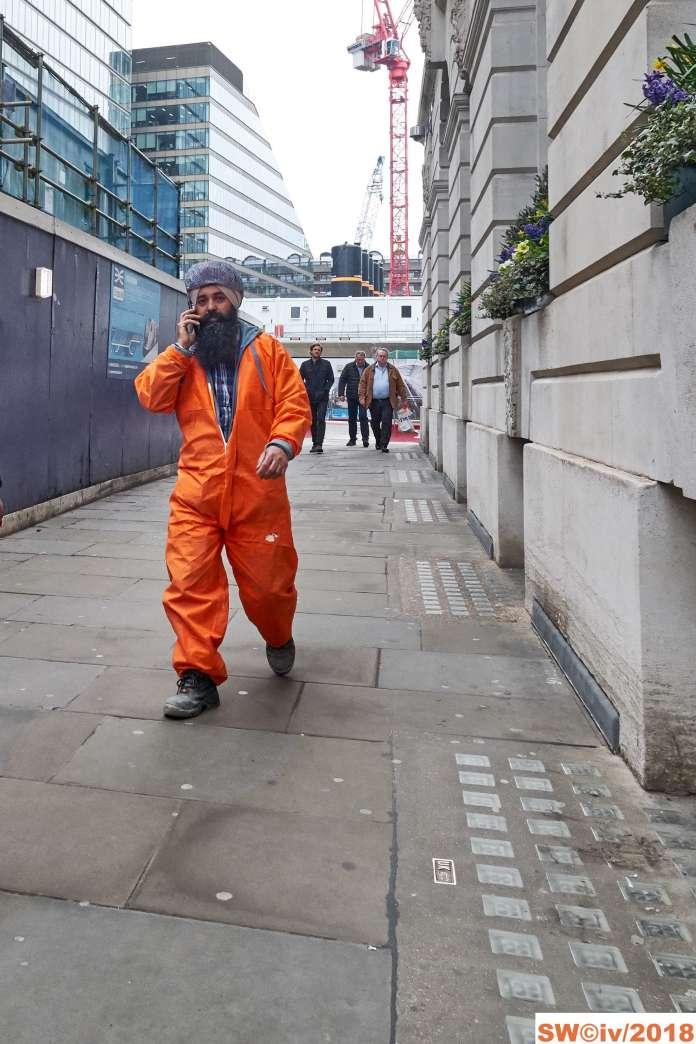 Orange Sikh