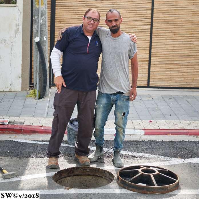 Manning the manhole