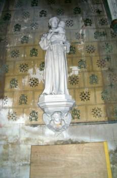 Statue des Hl. Antonius von Padua in Saint-Martin, eigenes Foto, Lizenz CC by