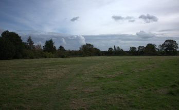 Open land near Peter de Stapleigh Way