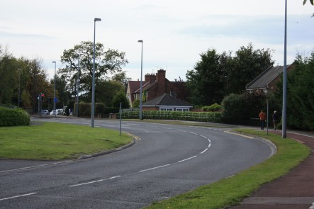 Peter de Stapleigh Way near Audlem Road