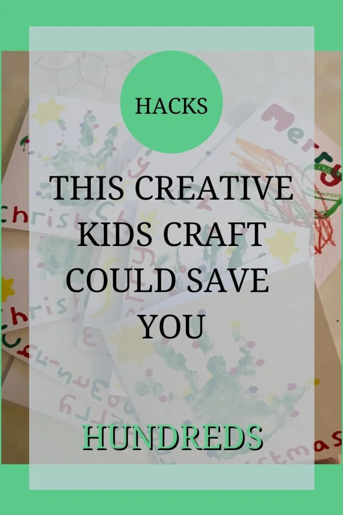 This creative kids craft could save you hundreds