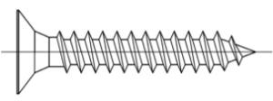 Chipboard screw