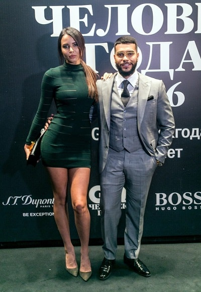 Тимати и Анастасия Решетова