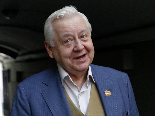 Актер Табаков. Фото