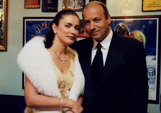 Игорь Крутой со второй женой Ольгой