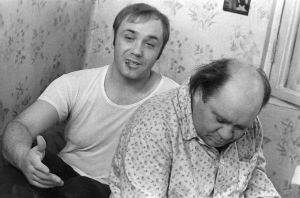 Леонид Куравлев и Евгений Леонов