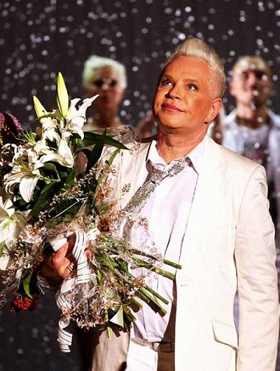 Борис Моисеев. Биография певца, личная жизнь, карьера, фото
