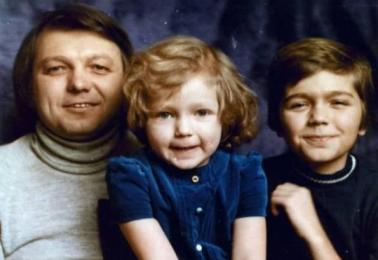 Дмитрий Маликов в детстве. Фото