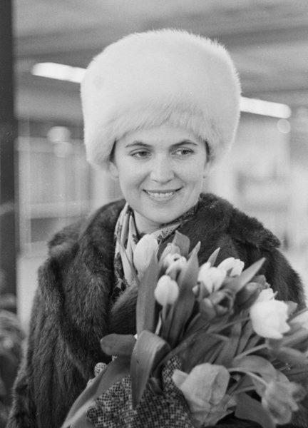 Певица Галина Вишневская
