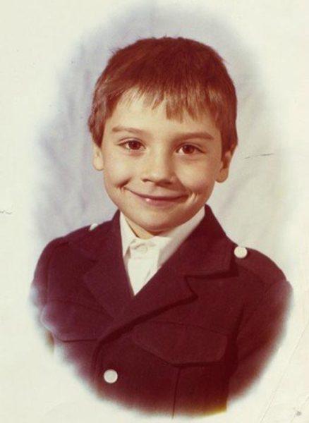 Сергей Лазарев в детстве. Фото