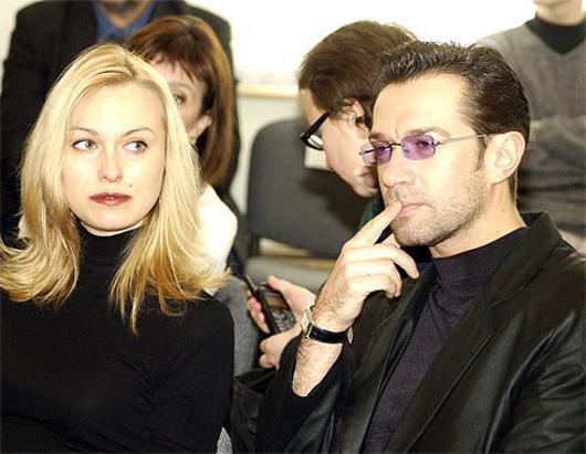 Владимир Машков и Ксения Тереньтьева. Фото