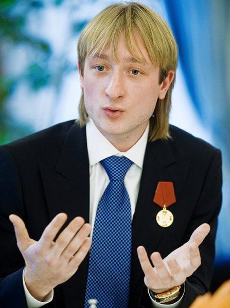 Фотография Евгения Плющенко