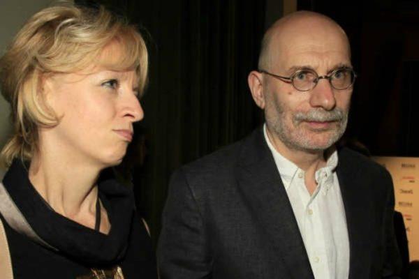 Писатель Борис Акунин с женой Эрикой