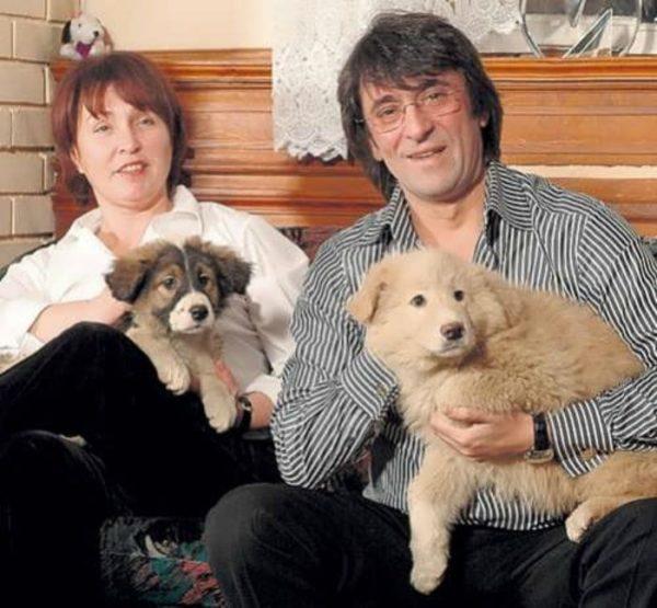 Юрий Башмет с женой Натальей. Фото
