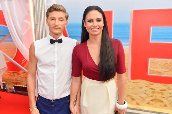 Павел Воля с женой Ляйсан Утяшевой