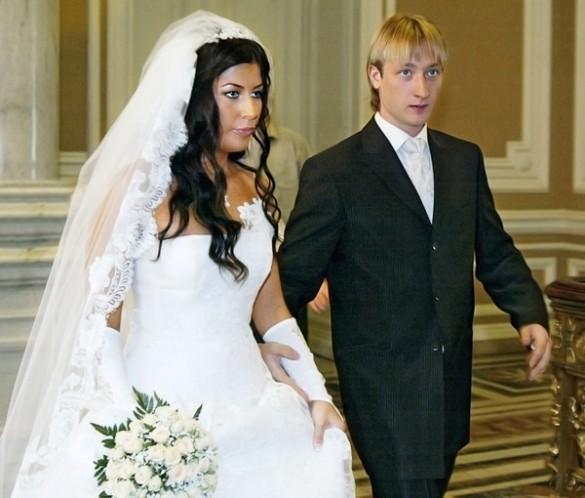 Евгений Плющенко и Мария Ермак свадьба