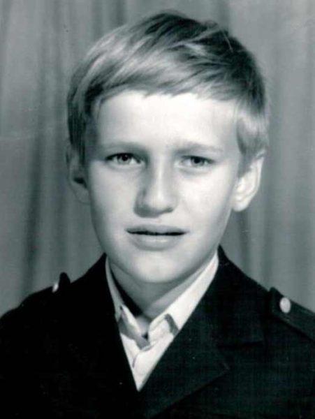 Алексей Навальный в детстве. Фото
