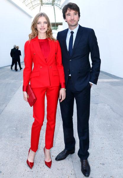 Фотомодель Наталья Водянова с мужем Антуаном Арно