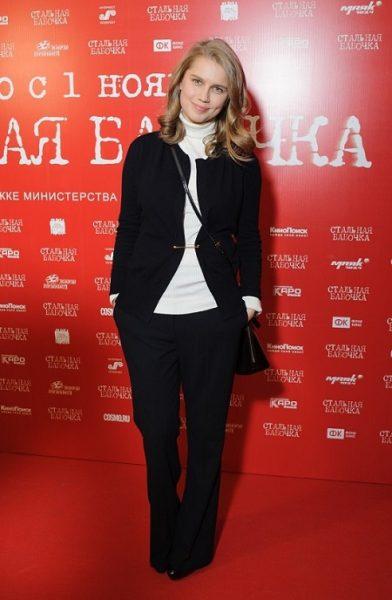 Актриса Даша Мельникова на церемонии