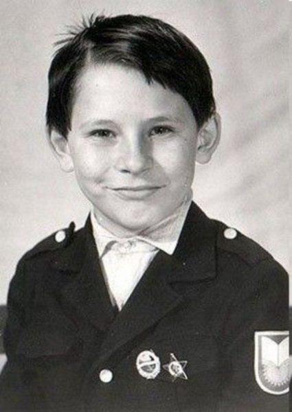 Тимур Батрутдинов в детстве. Фото